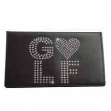 Love Golf Scorecard Holder